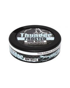 Thunder Frosted White Mini Chew