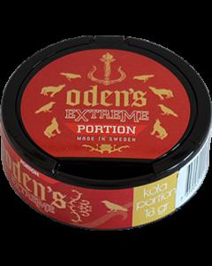 Oden's Kola Extreme, Portion