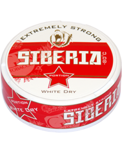 Siberia Extremely Strong, White Portion