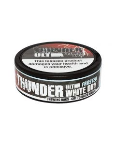 Thunder Ultra Frosted (RAW) White Chew