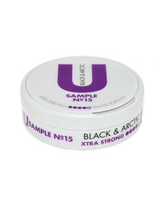 U Sample No. 15 Black & Arctic White Xtra Strong Chew