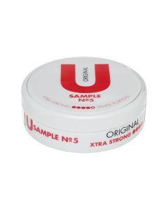 U Sample No. 5 Original White Xtra Strong Chew