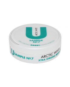 U Sample No. 7 Arctic White Xtra Strong Chew